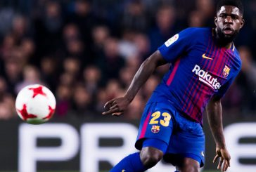 Barcelona boss Ernesto Valverde plays down talk of Samuel Umtiti joining Manchester United