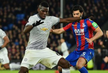 Gary Neville criticises Paul Pogba's first half performance vs Crystal Palace