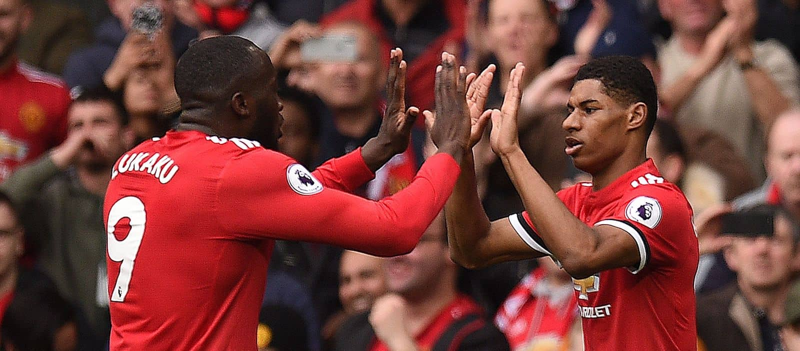 Marcus Rashford picks out best part of Romelu Lukaku's game