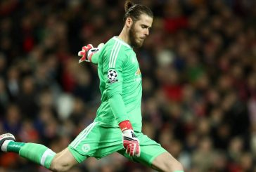 Manchester United's David de Gea and Marcus Rashford on PFA's award shortlist