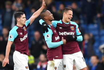 Former Manchester United duo Javier Hernandez and Patrice Evra make big impact for West Ham United against Chelsea