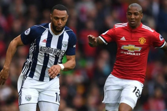 Ashley Young: I adapted to being Manchester United's left-back easily