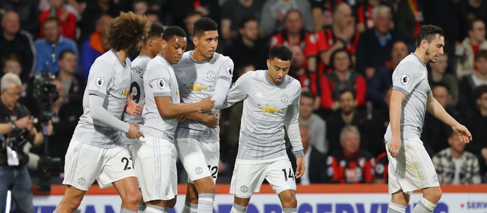 Anthony Martial pleased with Manchester United's win over AFC Bournemouth