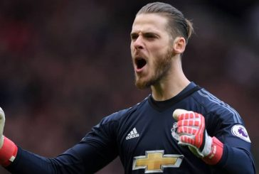 David de Gea named in Champions League Team of the Tournament
