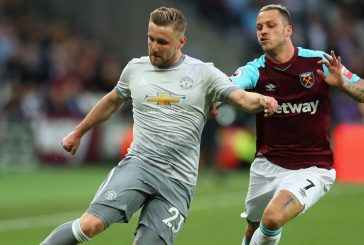 Manchester United fans delighted with Luke Shaw's performance vs West Ham