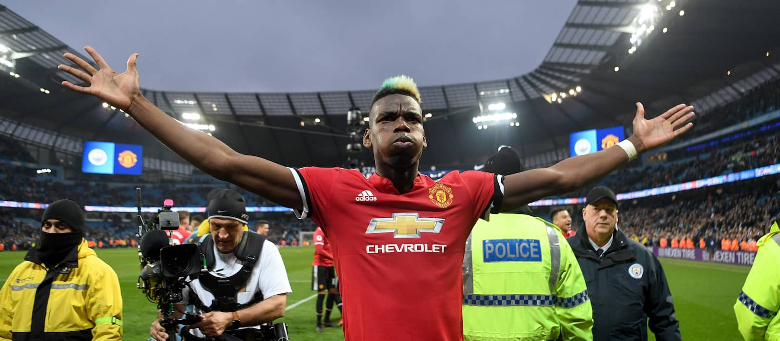 Manchester United reject offer of £45m plus Yerry Mina and Andre Gomes from Barcelona for Paul Pogba – report