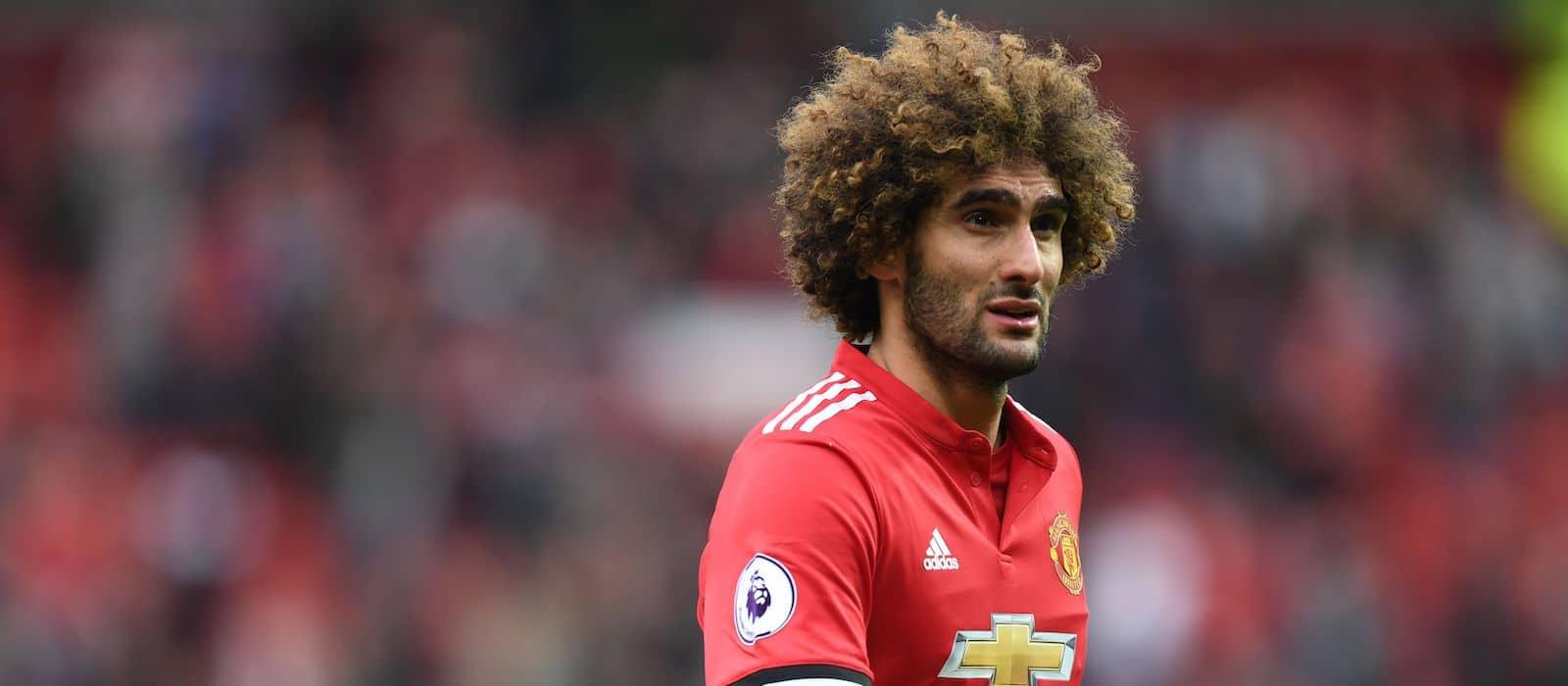Roberto Martinez confirms Manchester United midfielder Marouane Fellaini has an injury worry