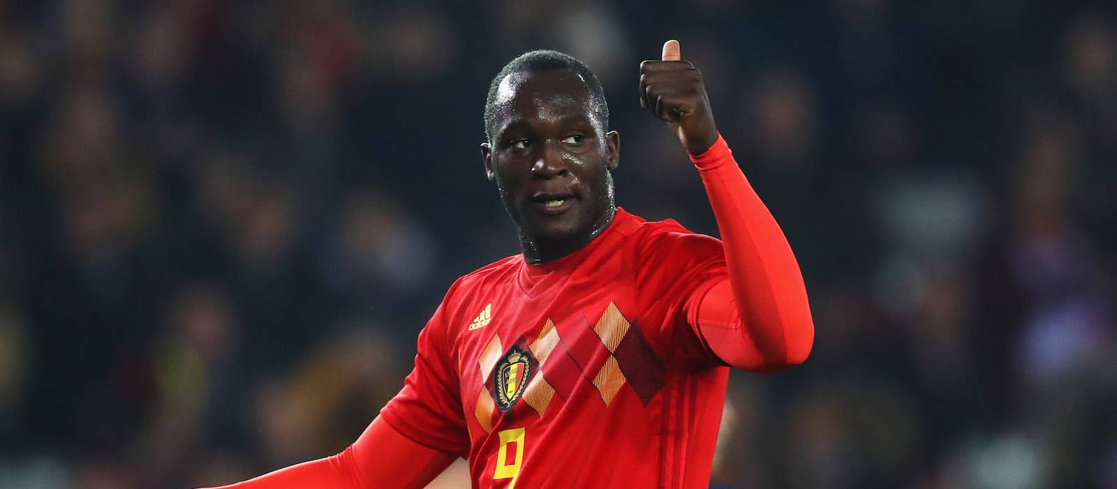 Romelu Lukaku impresses again on international duty