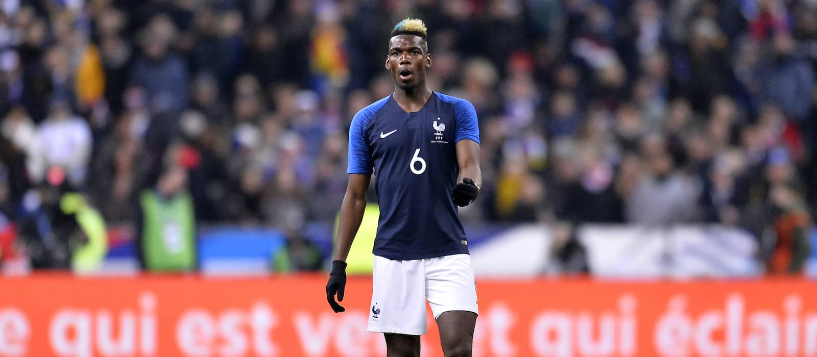 Video: Paul Pogba scores sensational goal in France training amid row over Barcelona links