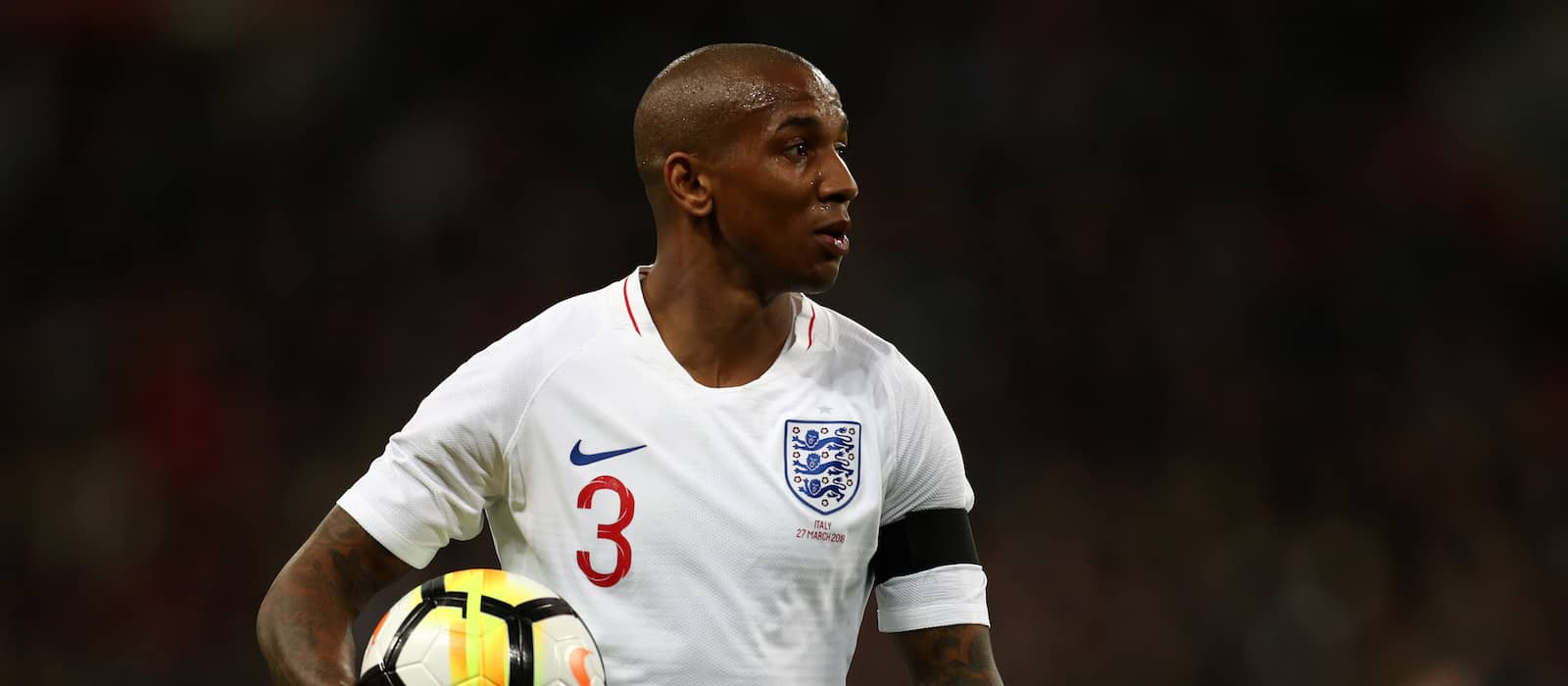 "Ashley Young ""absolutely gutted"" to miss out on World Cup final"