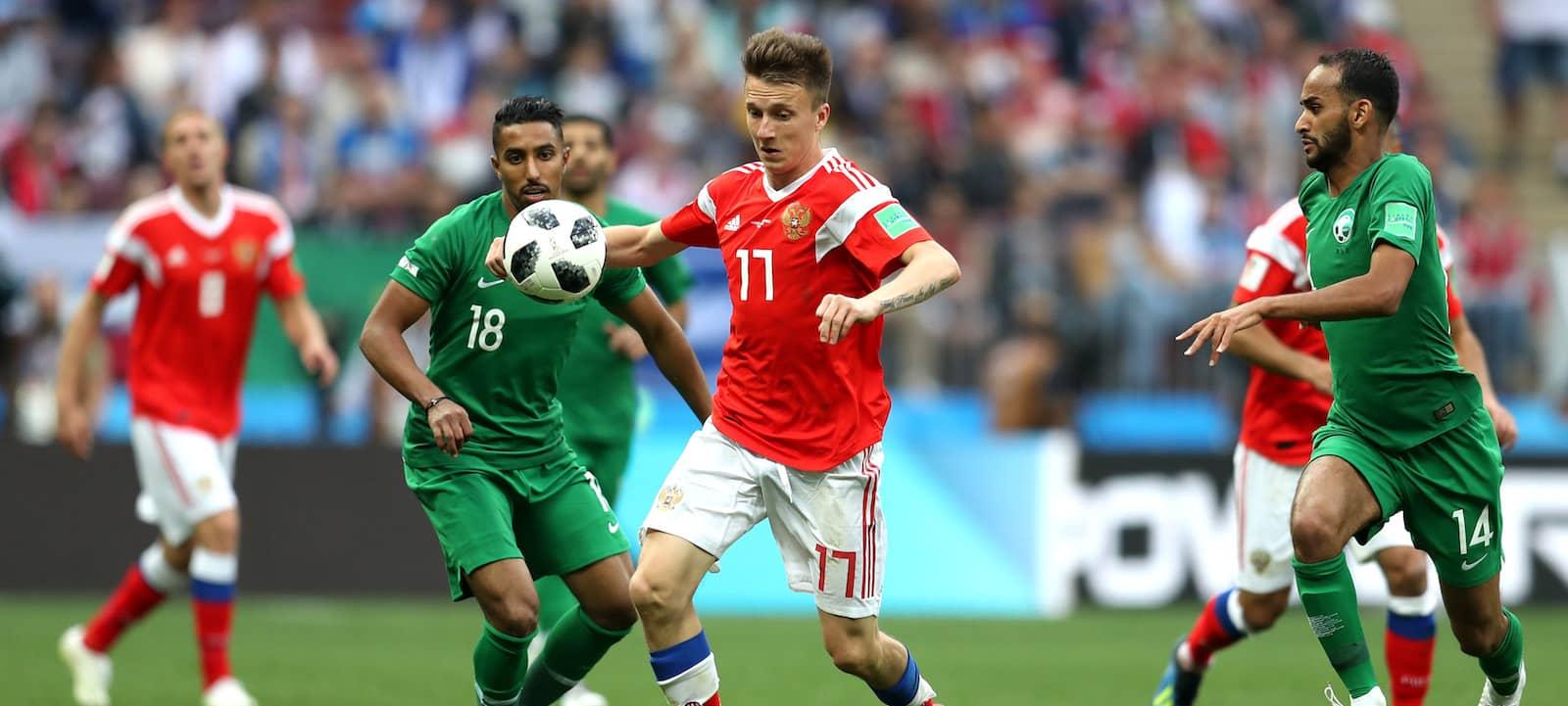 Jose Mourinho: Aleksandr Golovin gives Russia dynamism