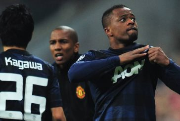 Patrice Evra: Robin van Persie was like a kid at Manchester United