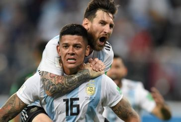 Marcos Rojo explains what Lionel Messi told Argentina players at half time