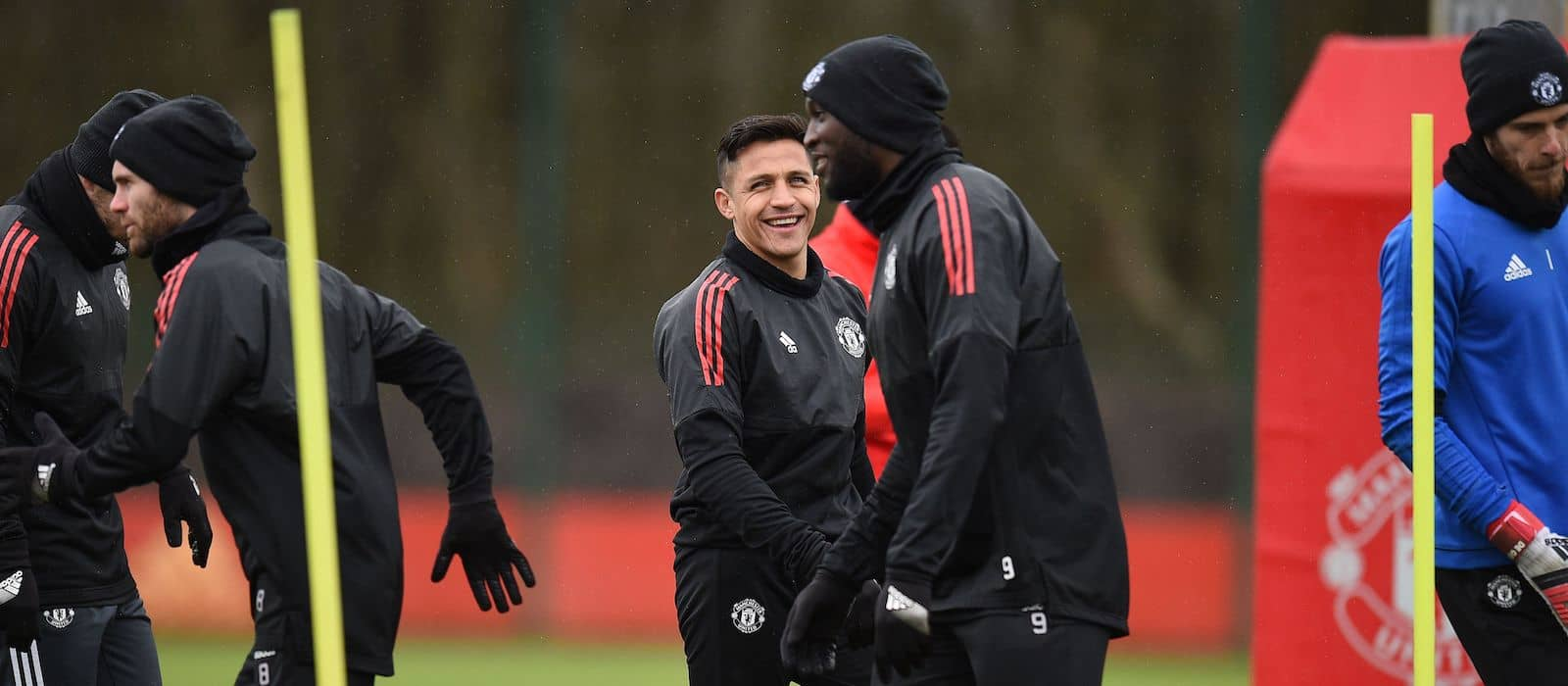 Photo gallery: Manchester United players training ahead of Tottenham Hotspur clash
