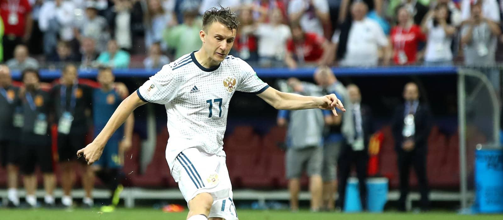 Jose Mourinho: Everything Aleksandr Golovin does is correct
