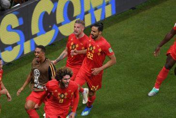 Marouane Fellaini and Romelu Lukaku star as Belgium shock Brazil in World Cup Quarter-Finals