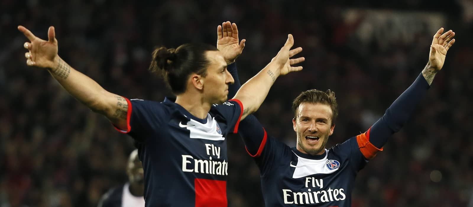 David Beckham and Zlatan Ibrahimovic agree on England vs Sweden World Cup wager