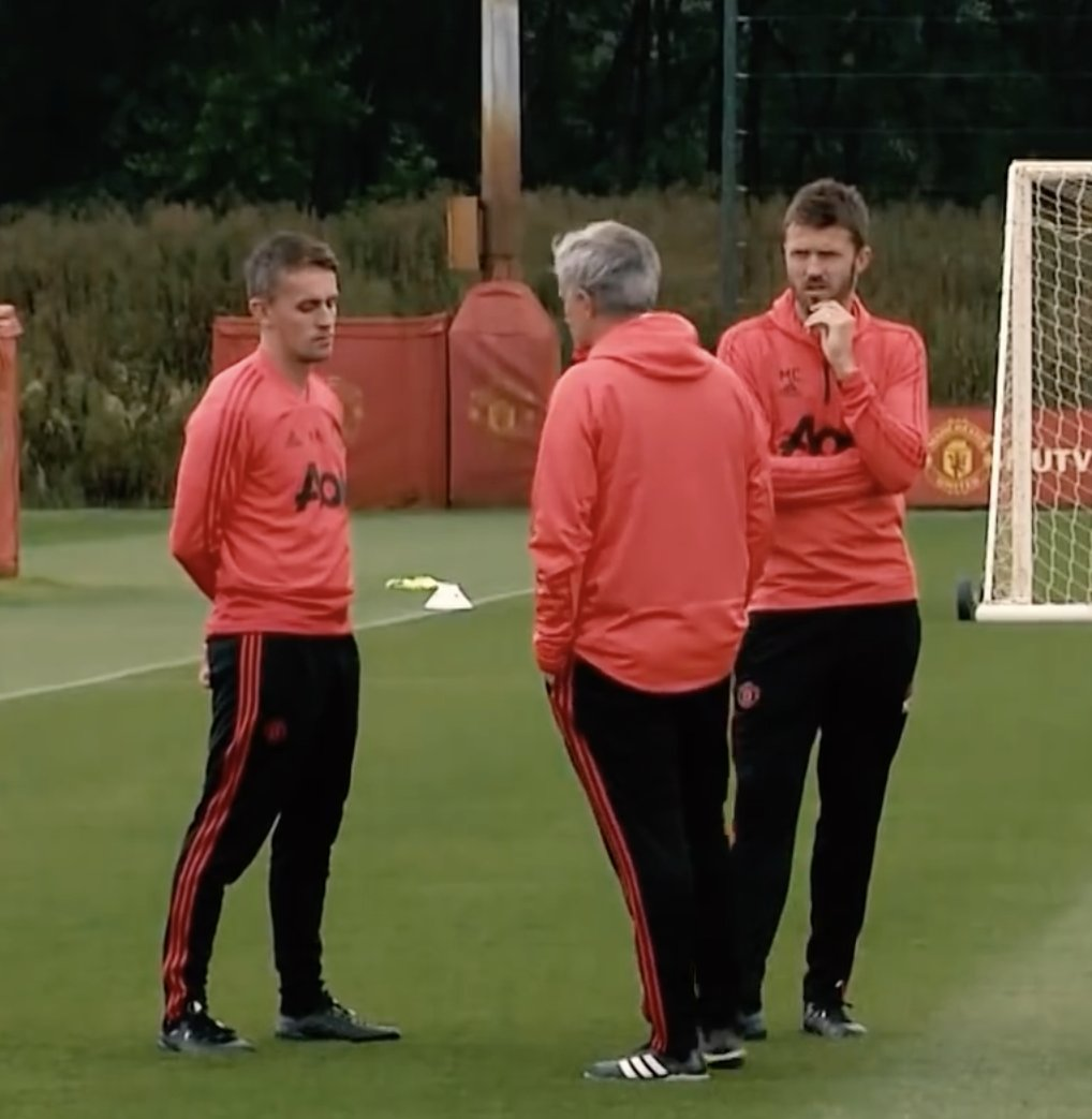 Michael Carrick explains his role on Manchester United coaching staff under Jose Mourinho