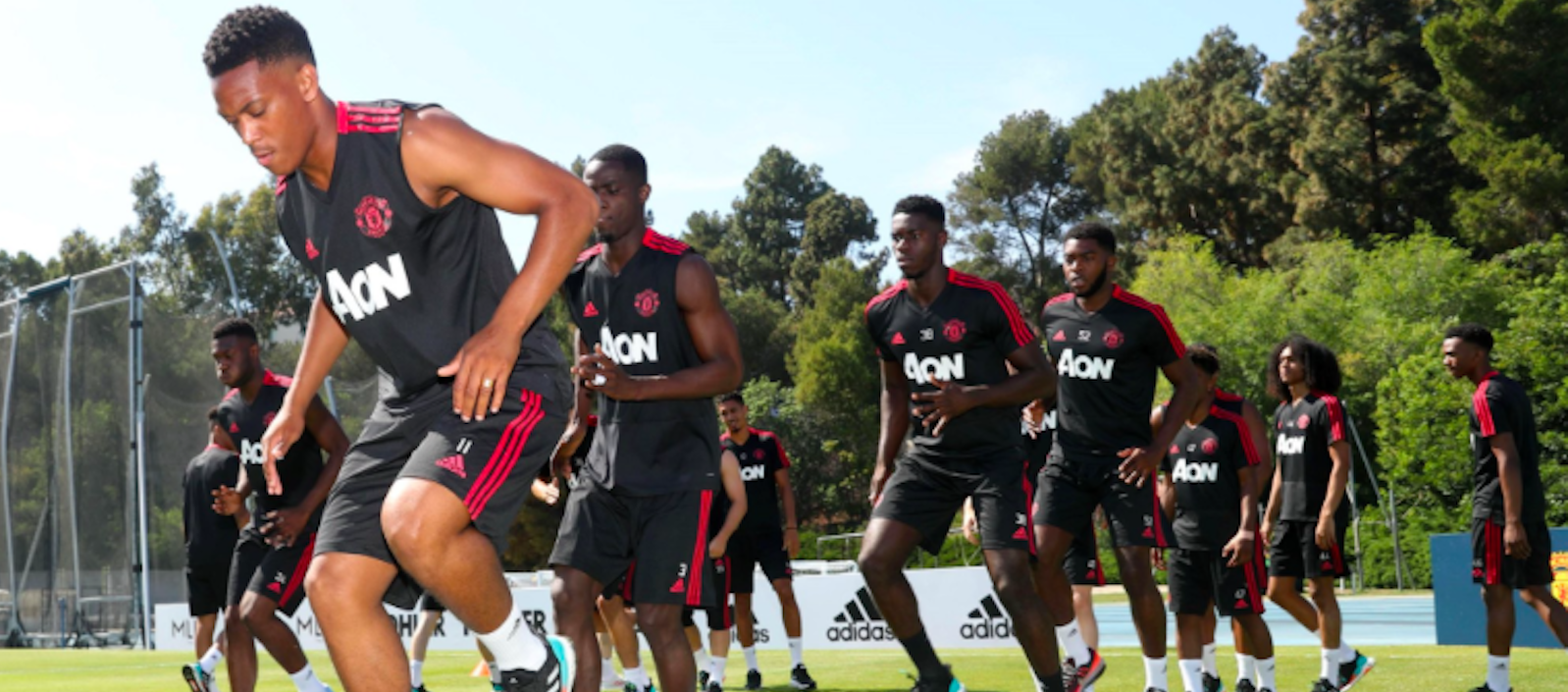 Photo gallery: Manchester United players training hard ahead of Club America clash
