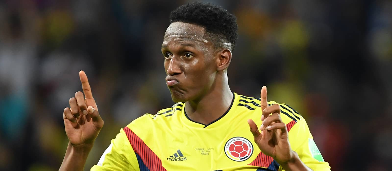 Yerry Mina drops Manchester United move hint