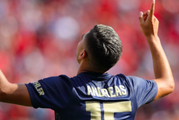 Video: Andreas Pereira scores stunning free-kick against Liverpool