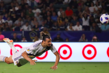 Video: Zlatan Ibrahimovic scores incredible hat-trick for LA Galaxy