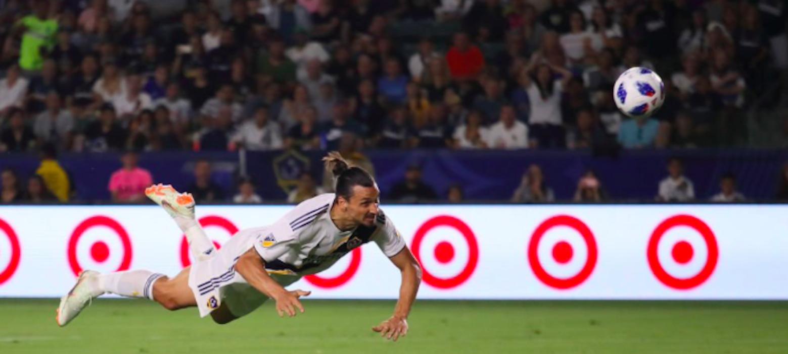 Video: Zlatan Ibrahimovic scores incredible hat-trick for LA Galaxy