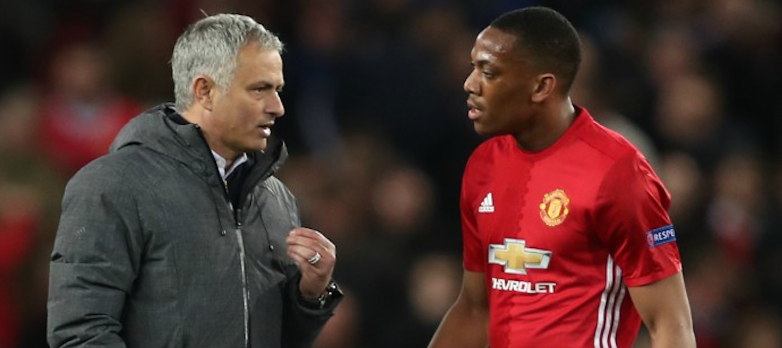Anthony Martial admits displeasure with Jose Mourinho criticism