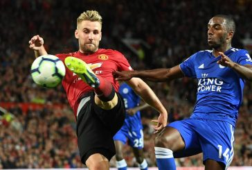 Jose Mourinho praises 'complete' Luke Shaw performance against Leicester City