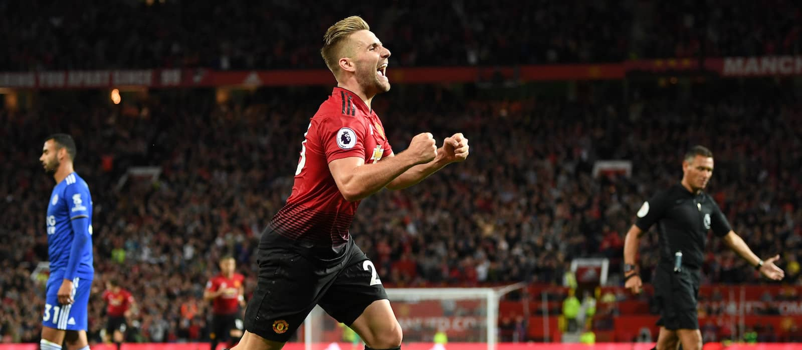 Luke Shaw explains how 'crazy' half-time team talk helped Manchester United improve vs Liverpool