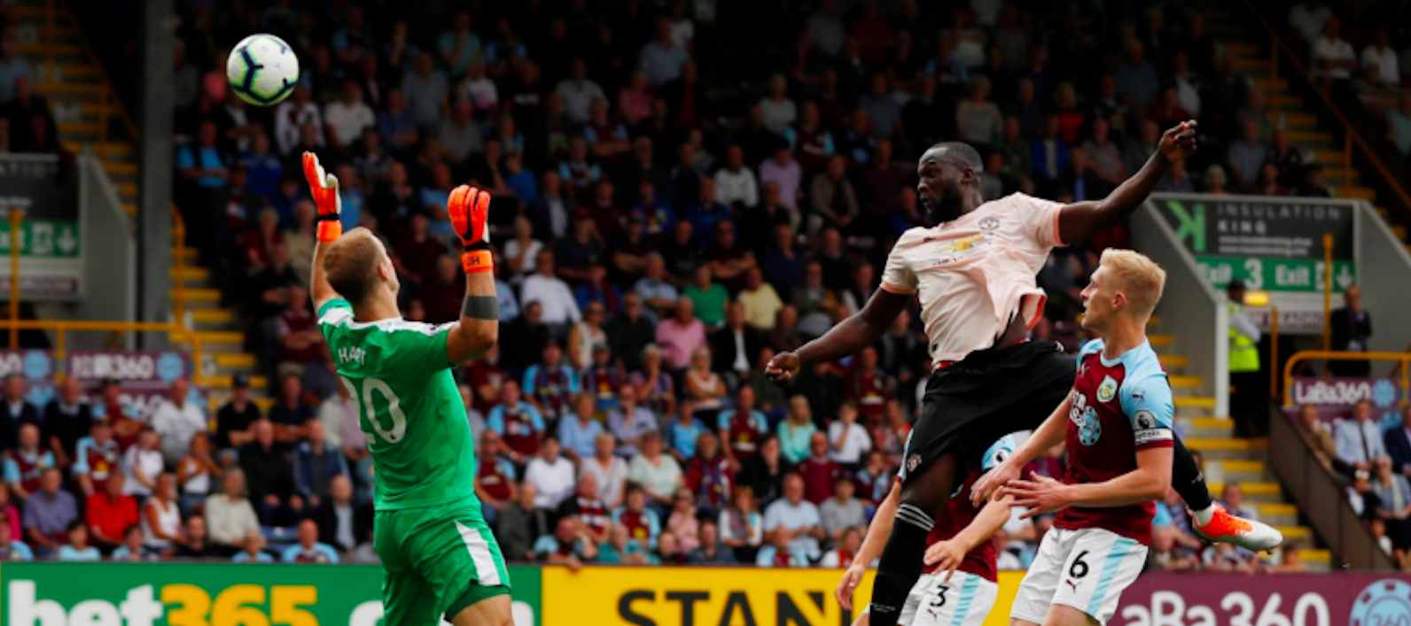 Garth Crooks names Romelu Lukaku in BBC 'Team of the Week' following Burnley brace