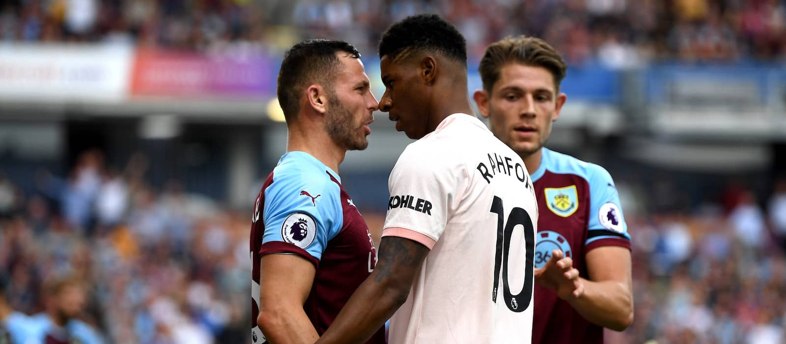 "Mourinho deems Rashford ""naive"" after sending off against Burnley"