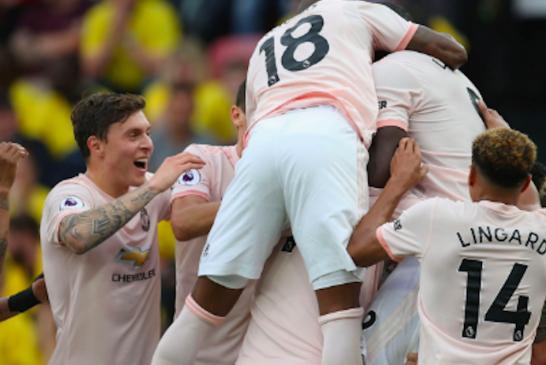 David de Gea, Marouane Fellaini and Romelu Lukaku make BBC 'Team of the Week'