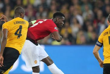 Jose Mourinho pleased with Paul Pogba's attacking influence against Young Boys