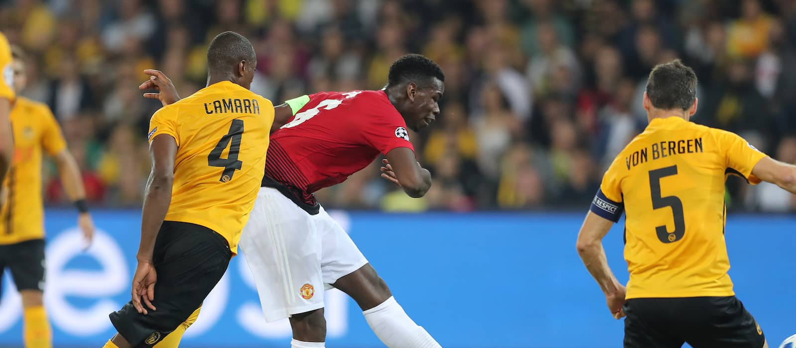 Paul Pogba thanks Jose Mourinho and teammates for letting him take penalty vs Young Boys