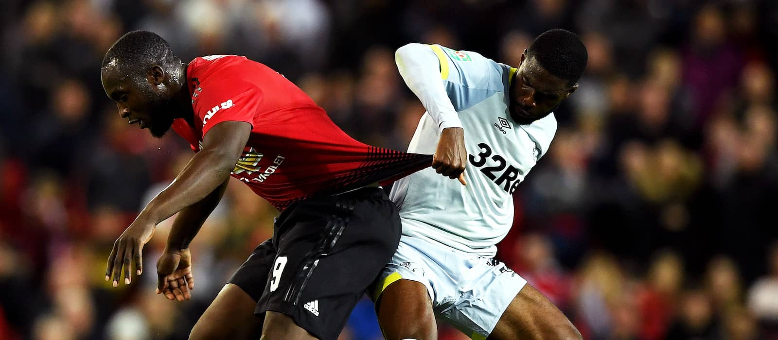 Manchester United fans frustrated with Romelu Lukaku's performance vs Derby
