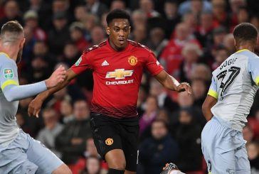 Anthony Martial delighted with good form at Manchester United after goal against Everton