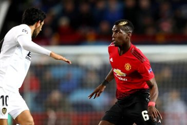 "Paul Pogba encourages Manchester United players to ""keep fighting"" after Valencia stalemate"
