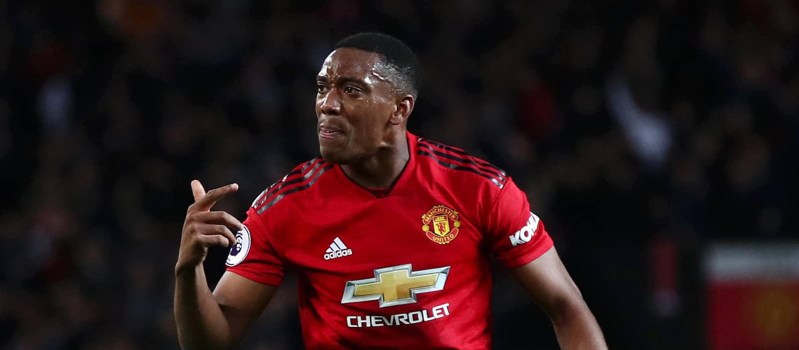 Manchester United fans pleased with Anthony Martial's performance vs Newcastle