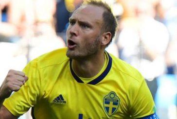 Sweden captain Andreas Granqvist confirms Manchester United interest