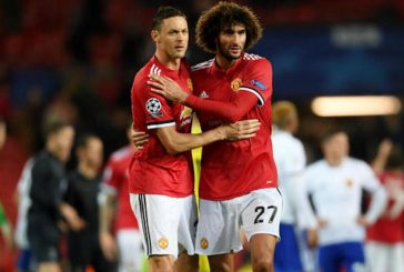 Nemanja Matic and Marouane Fellaini suffer knocks ahead of international break