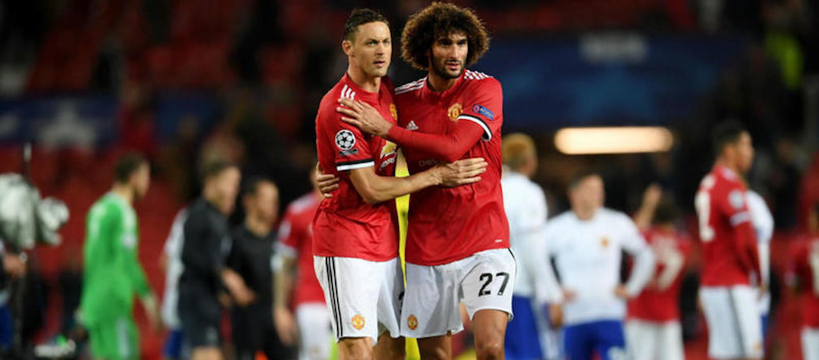 Marouane Fellaini: It was the right time to leave Manchester United