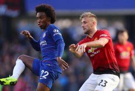 Luke Shaw destroys Paul Pogba on Twitter after 2-1 win over Everton