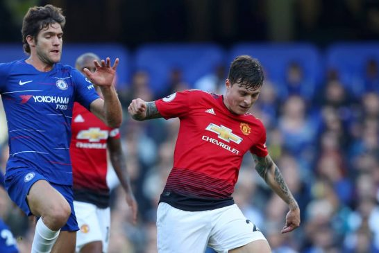 Victor Lindelof's superb form continues against Brighton and Hove Albion