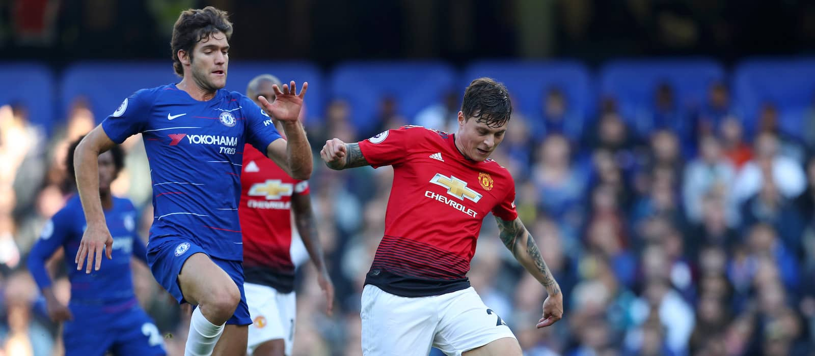 Victor Lindelof impresses for Manchester United against Everton with 86% pass accuracy