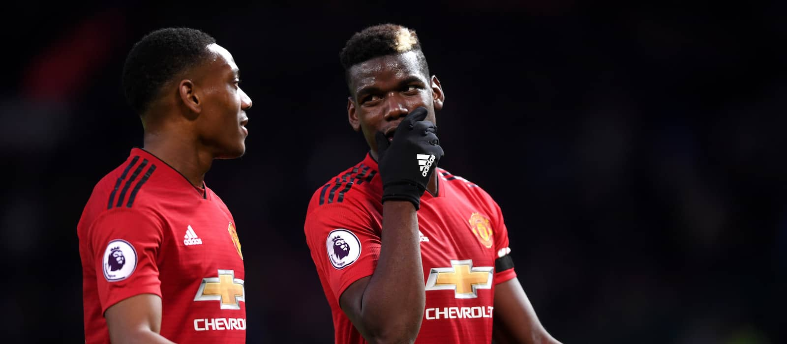 Paul Pogba laughs off penalty miss against Everton