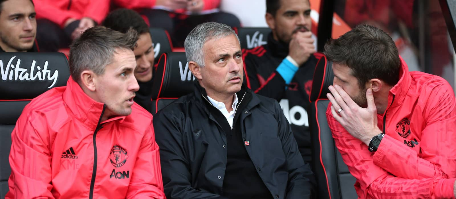 Video: Jose Mourinho's brilliant reaction after Juventus 1-2 Manchester United