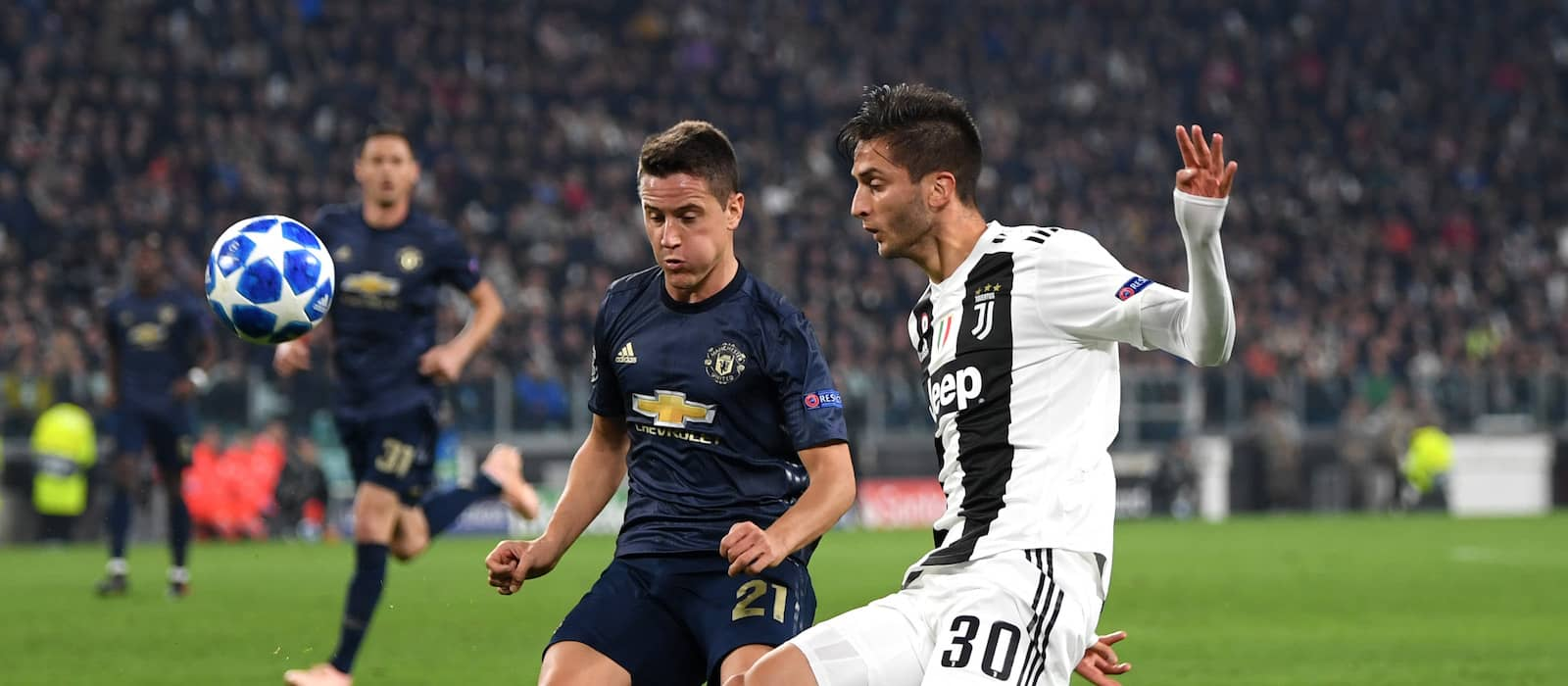 Stats weigh heavily in Ander Herrera's favour after Juventus showing