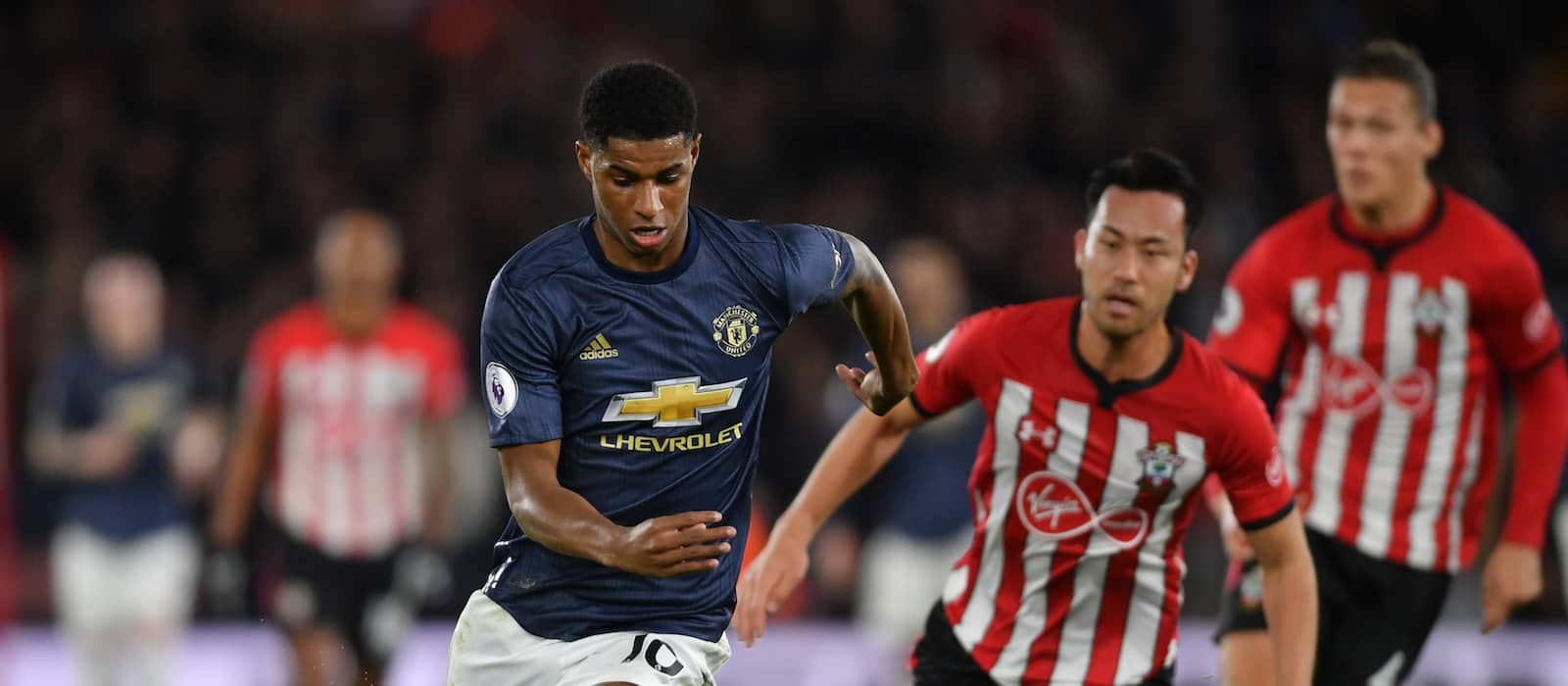 Marcus Rashford produces bold attacking display against Southampton