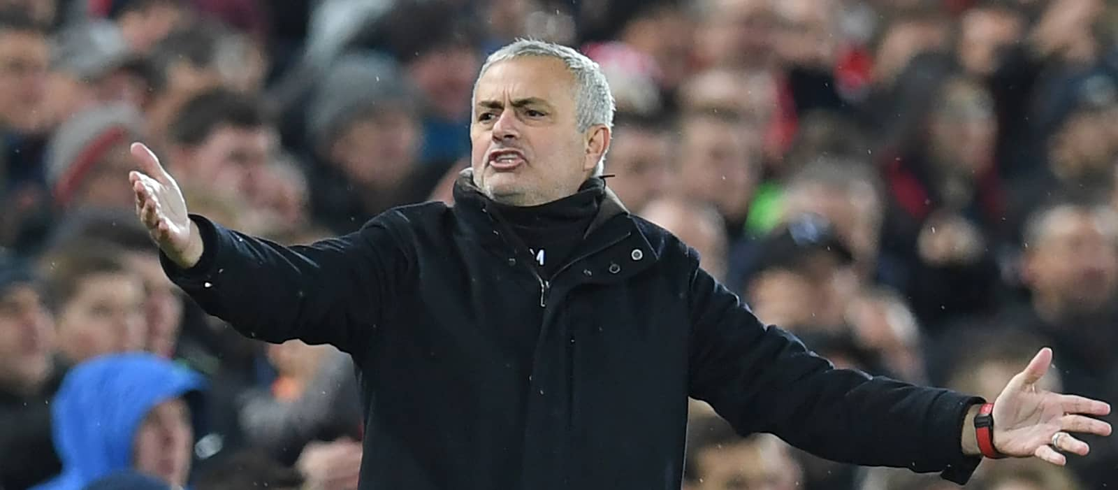 Jose Mourinho insists Liverpool were fortunate to beat Manchester United